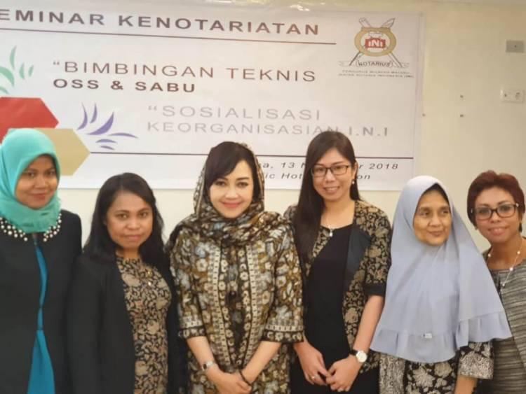Seminar Kenotariatan dan Praktek OSS & SABU